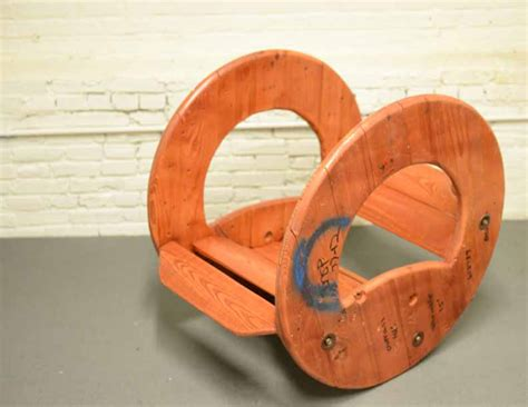 Cable Reel Rocking Chair by Cable Reel Rocking Chair By Connor Mcgoey At Coroflot