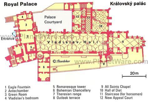 royal palace floor plans prague royal palace kralovsky palac floor plan map