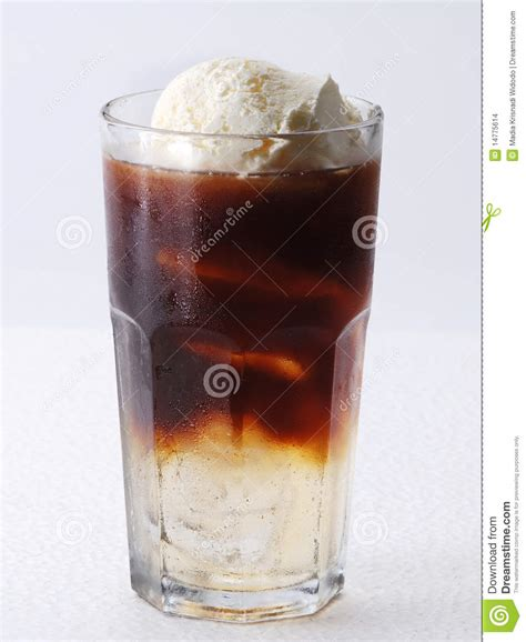 Iced Coffee Float iced coffee with vanilla float stock photo image 14775614