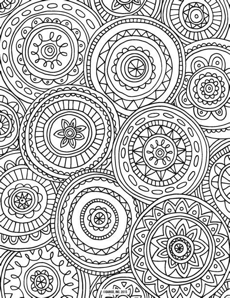Coloring Page For Adults 9 Free Printable Adult Coloring Pages Pat Catan S Blog