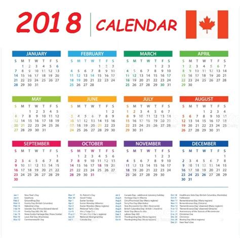 the s weekly datebook 2018 surviving the second year of books 2018 calendar canada calendar template excel