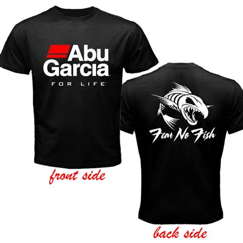 Hoodie Abu abu garcia fishing reel logo 2 sides black t shirt size s to 3xl av ebay
