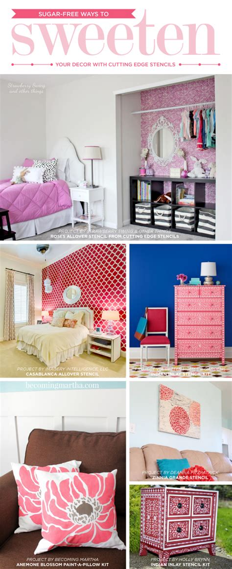 decorating theme bedrooms maries manor transportation sugar free ways to sweeten your decor stencil stories on
