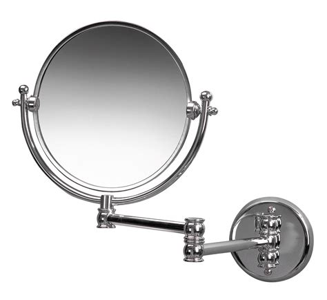 miller bathroom mirrors miller classic traditional 190mm round magnifying mirror