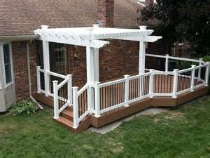 vinyl aluminum pergola kits decks amp fencing contractor talk