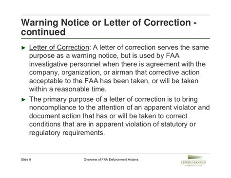 Faa Letter Of Agreement Definition overview of faa enforcement actions july 2012