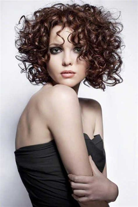 spiral hairstyles with bangs short curly perms the best short hairstyles for women 2016