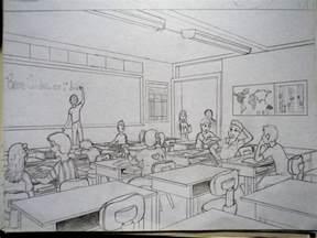 classroom sketch by ronydraw on deviantart