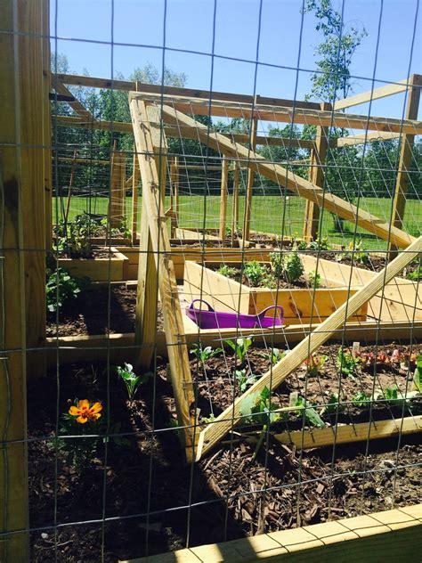 raised bed garden enclosure ana white