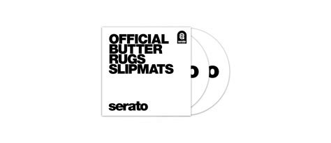 butter rug slipmats serato official butter rug slipmats white pair