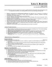medical sales resume exles
