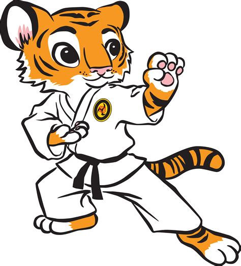karate clipart shotokan tiger clipart