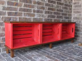 hometalk diy crate bench
