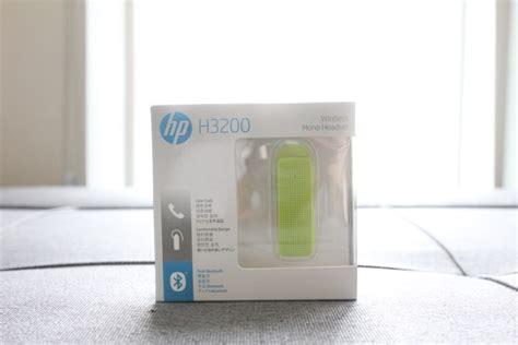 Hp Bluetooth Wireless Headset H3200 hp h3200 wireless mono headset review ห ฟ งบล ท ธ เช อมต อไว เส ยงใส