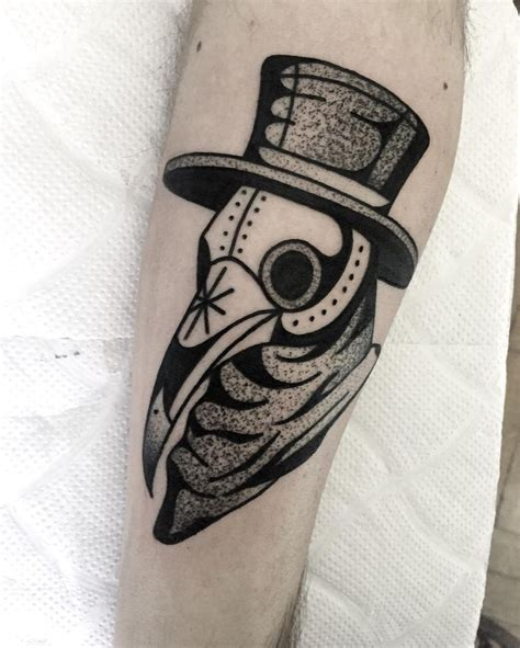 plague doctor tattoo 1833 best images on inspiration