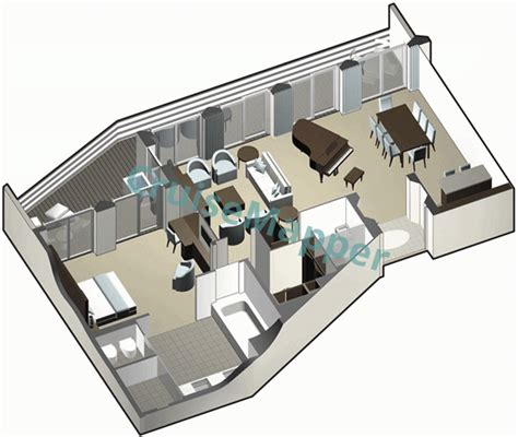 equinox floor plan equinox cabins and suites cruisemapper