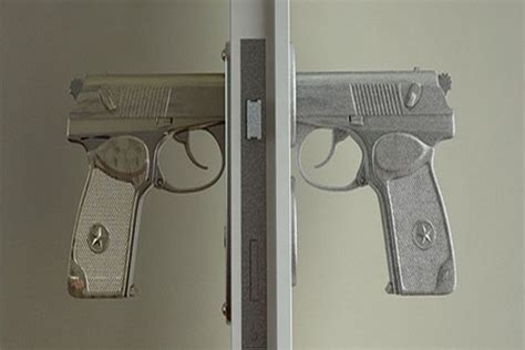gun door handle bang bang gun shaped door handle home harmonizing
