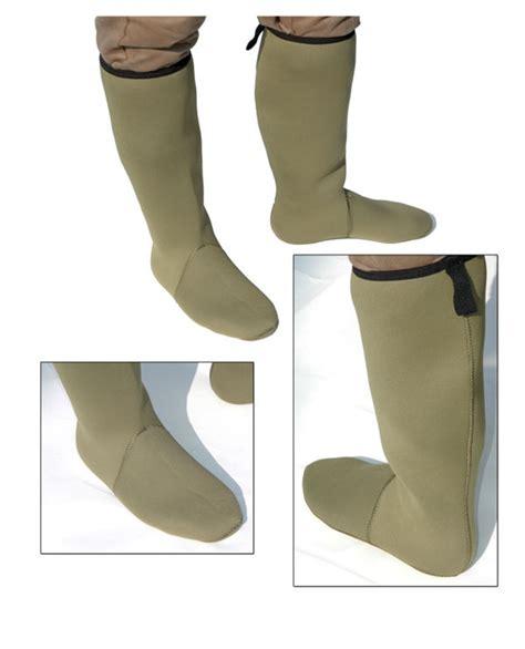 socks for boots new neoprene knee length boot sock 4mm green all sizes