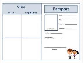 passport template uk passport templates free premium templates creative