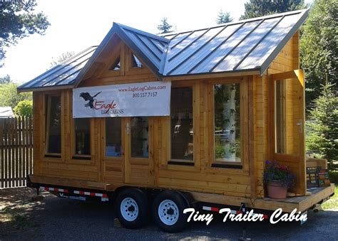 Trailer Cabins by Eagle Log Cabins