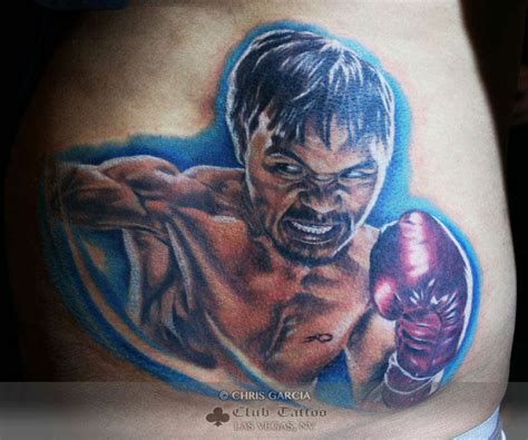 manny pacquiao tattoo chrisgarcia manny pacquiao sports boxing
