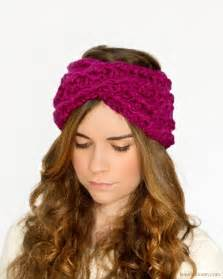 crochet headband criss cross headband crochet pattern chunky motorcycle review and galleries