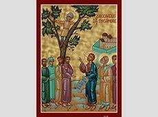 Zacchaeus teaches us the process of repentance. « Saint ... Zacchaeus Bible Story