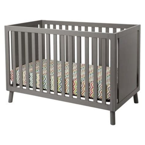 Target Grey Crib by Delta Children Manhattan 3 In 1 Crib Simple Crib With Side Panels That Could Be Decorated With