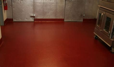epoxy kitchen floor commercial kitchen epoxy flooring portland oregon