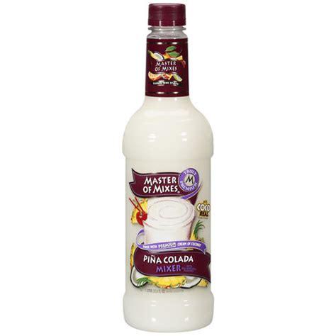master of mixes pina colada mixer 1 l walmart com