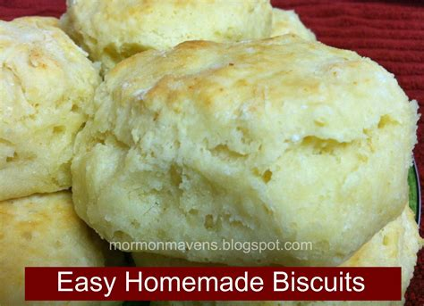 Handmade Biscuits - mormon mavens in the kitchen easy biscuits