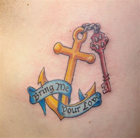 christian anchor tattoo designs symbolism anchor symbolism