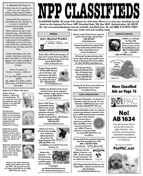 Classified Newspaper Section by Classifieds Newspaper