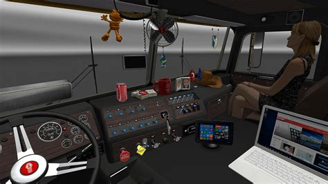Kenworth K100 Interior Kenworth K100 Interior V1 0 By Cyrusthevirus V1 6 X