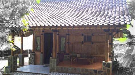 desain rumah sederhana dari bambu rumahfit