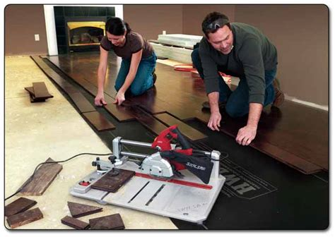 Laminate Hardwood Flooring Reviews skil 3600 02 120 volt flooring saw power tile saws