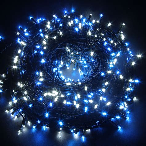 100m lights excelvan 500 leds 100m cool white string lights for