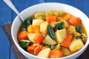 Winter Root Vegetable Soup Recipe - slow cooked treat paleo root vegetables recipe