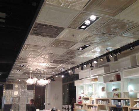 large ceiling tiles large snowflake aluminum ceiling tile 24 x24 2452