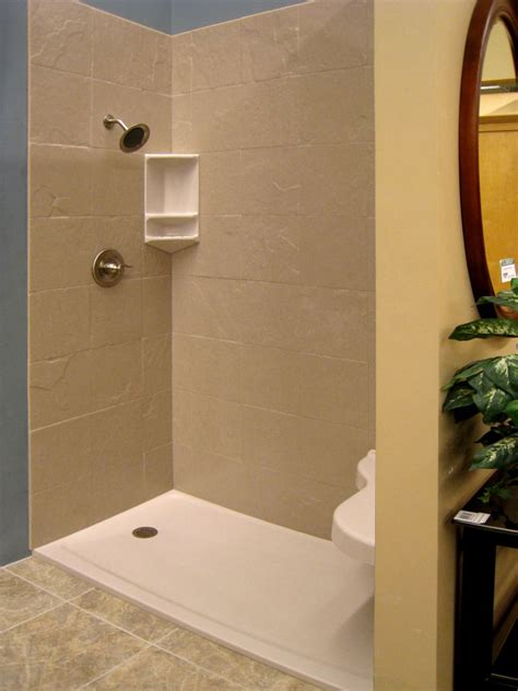 Bathroom Shower Pan Styles 2014 Solid Surface Shower Walls