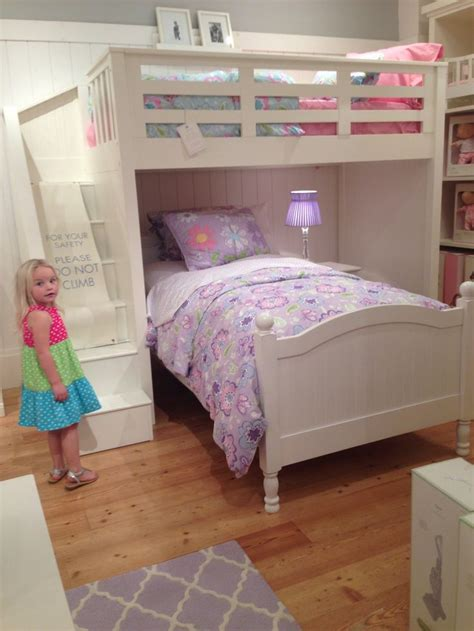 pottery barn kids loft bed catalina loft bed jordyn and lacie kids new room ideas