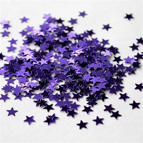 mini metallic star shaped confetti pack confetti co uk