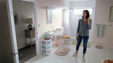 direct tv commercial actress shower the home depot tv commercial make a big change to your