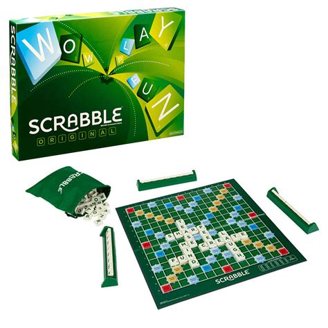 scrabble original board the gamesmen