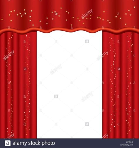 used theater curtains theater curtains with copy space vector illustration
