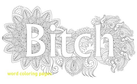 word coloring page generator word coloring pages with best swear word coloring books a