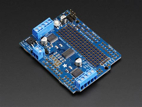 tutorial arduino adafruit adafruit motor stepper servo shield for arduino v2 kit v2 31