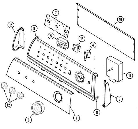 maytag gas dryer parts diagram diagram for maytag centennial dryer diagram