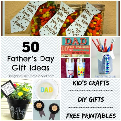 Handmade Fathers Day Gift Ideas - 50 fathers day gift ideas