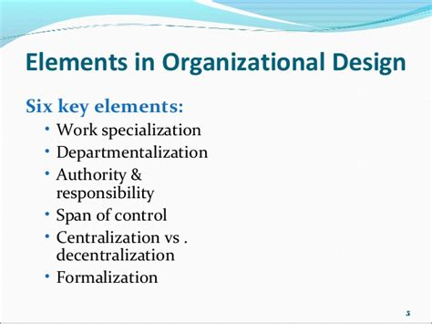 Organizational Design Key Elements | organisational designs and structures traditional